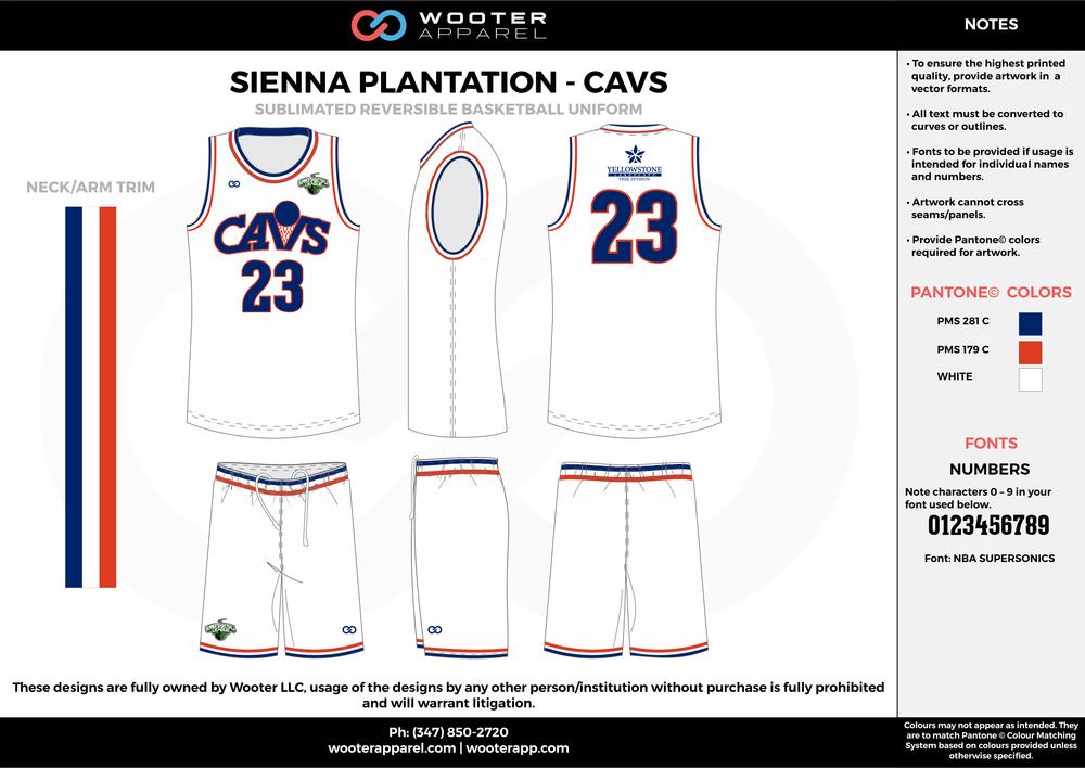 Sienna Plantation - Summer Basketball League - Cavs - Sublimated Reversible Basketball Uniform - 2017 2.png