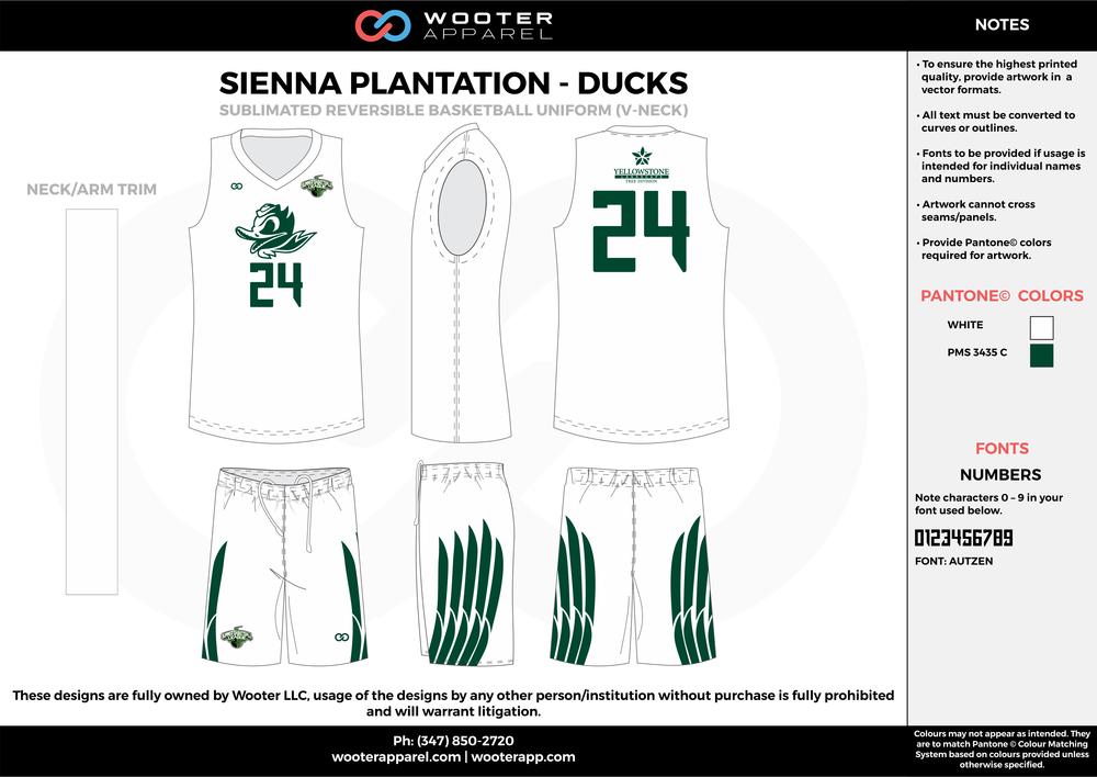Sienna Plantation - Summer Basketball League - Ducks - Sublimated Reversible Basketball Uniform - 2017 2.png