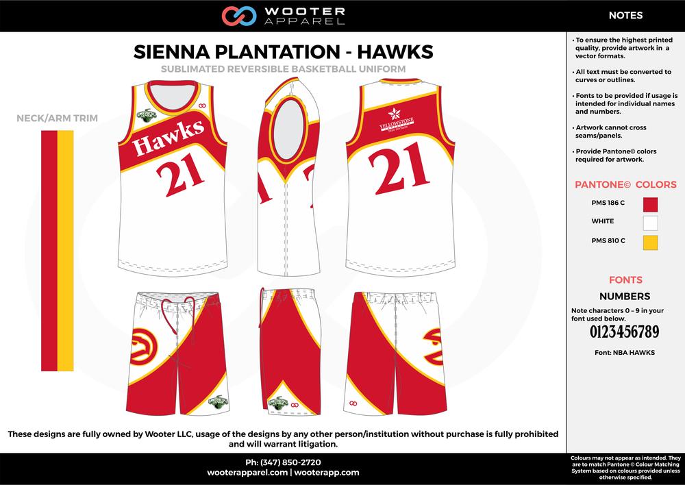 Sienna Plantation - Summer Basketball League - Hawks - Sublimated Reversible Basketball Uniform - 2017 2.png