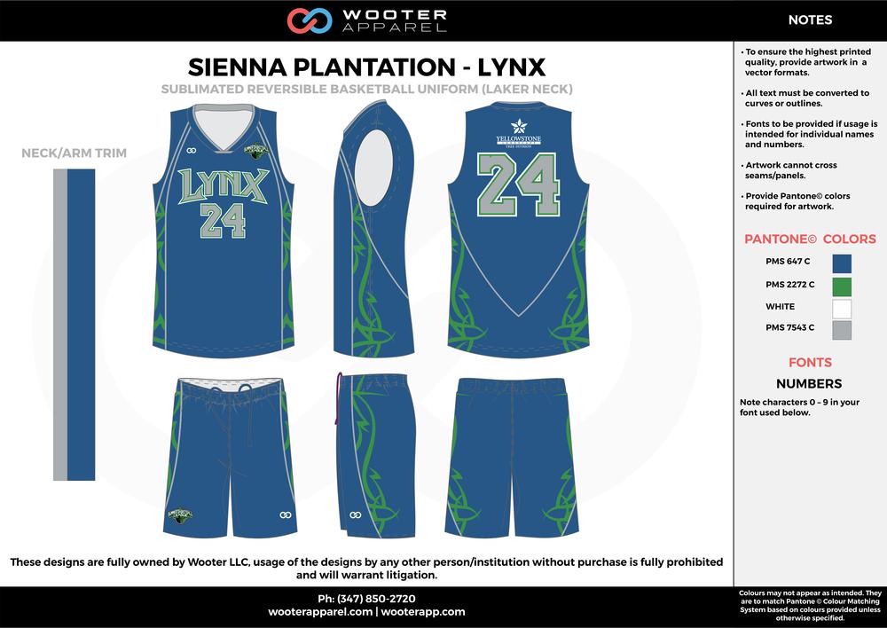 Sienna Plantation - Summer Basketball League - Lynx - Sublimated Reversible Basketball Uniform - 2017 1.png