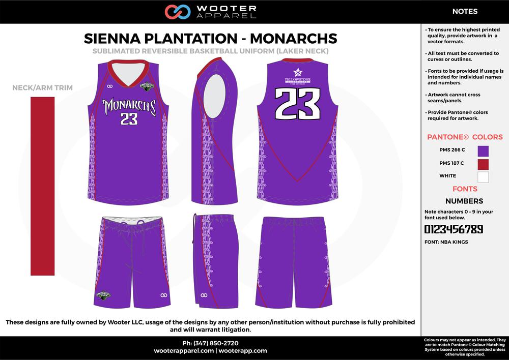 Sienna Plantation - Summer Basketball League - Monarchs - Sublimated Reversible Basketball Uniform - 2017 1.png
