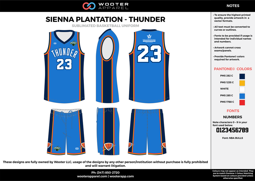 Sienna Plantation - Summer Basketball League - Thunder - Sublimated Reversible Basketball Uniform - 2017 1.png