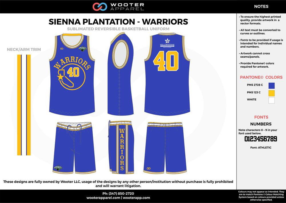 Sienna Plantation - Summer Basketball League - Warriors - Sublimated Reversible Basketball Uniform - 2017 1.png
