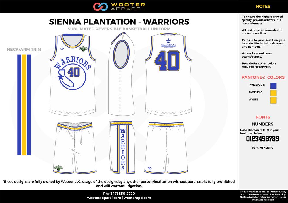 Sienna Plantation - Summer Basketball League - Warriors - Sublimated Reversible Basketball Uniform - 2017 2.png