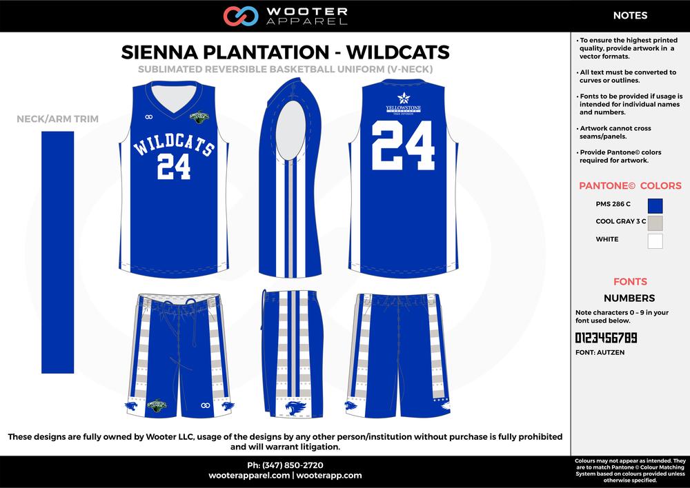 Sienna Plantation - Summer Basketball League - Wildcats - Sublimated Reversible Basketball Uniform - 2017 2.png
