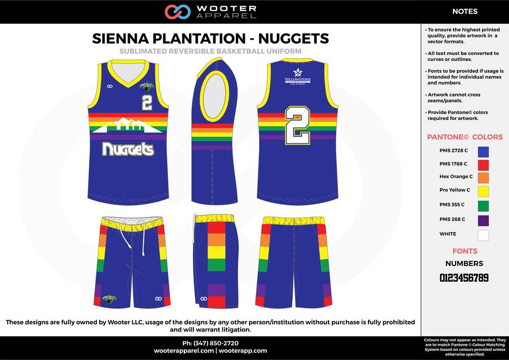 Sienna Plantation - SummerLeague - Nuggets - Sublimated Reversible Basketball Uniform -  2017 1.png