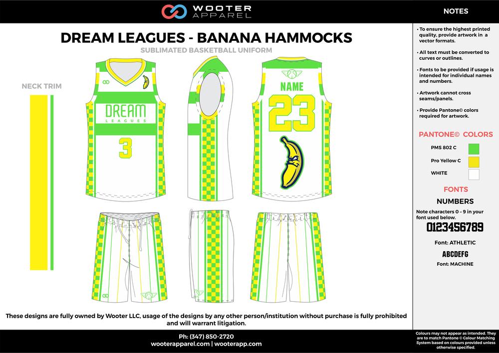 Dream Leagues  - Banana Hammocks - Sublimated Basketball Uniform - 2017.png