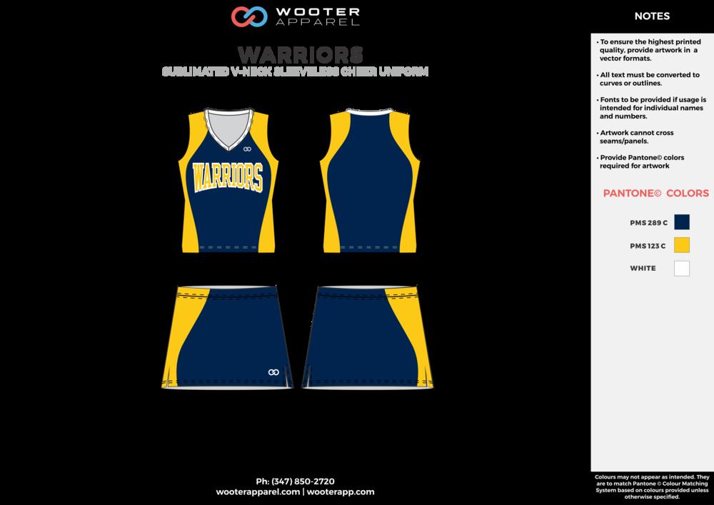 Warriors - Cheerleading Uniform - 2017 - v1.png
