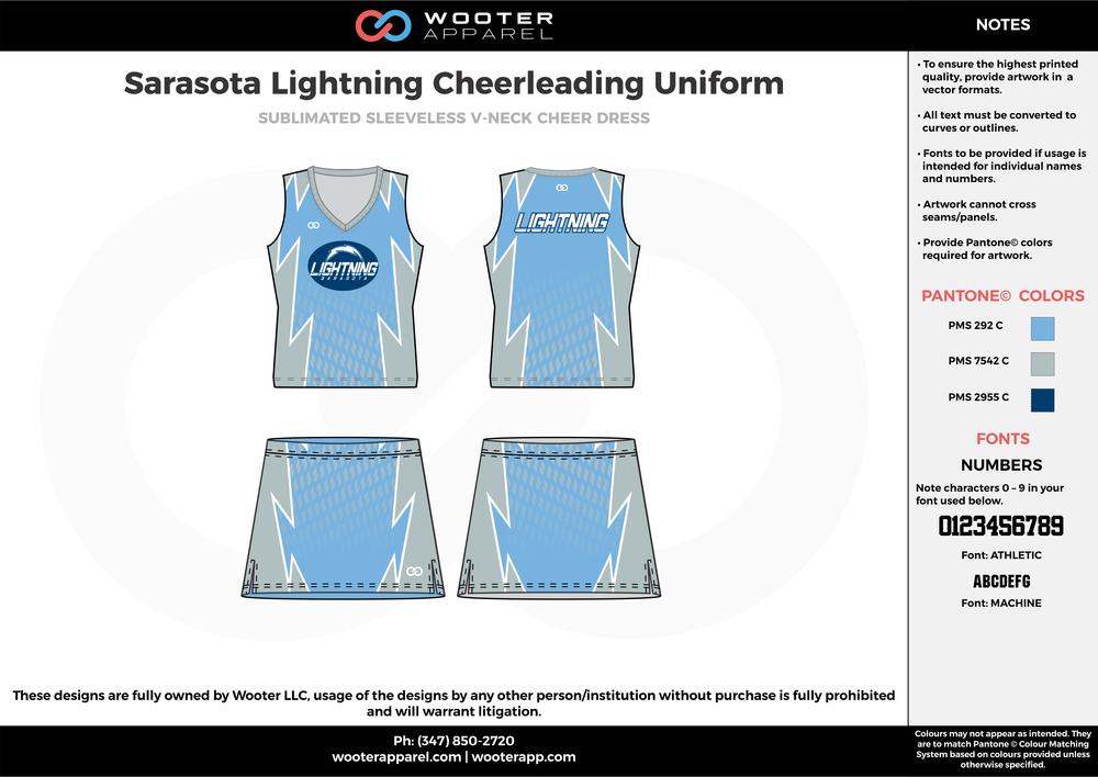 2017-07-28 Sarasota Lightning Cheerleading Uniform.png