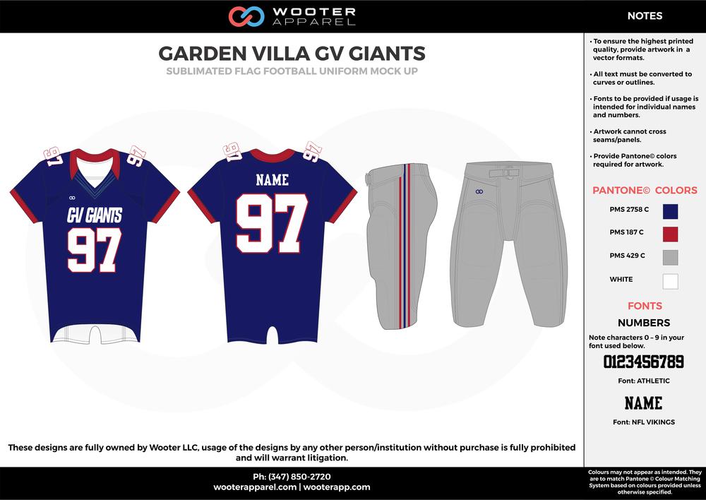 Garden Villa GV Giants - Sublimated Flag Football Uniform - 2017 1.png