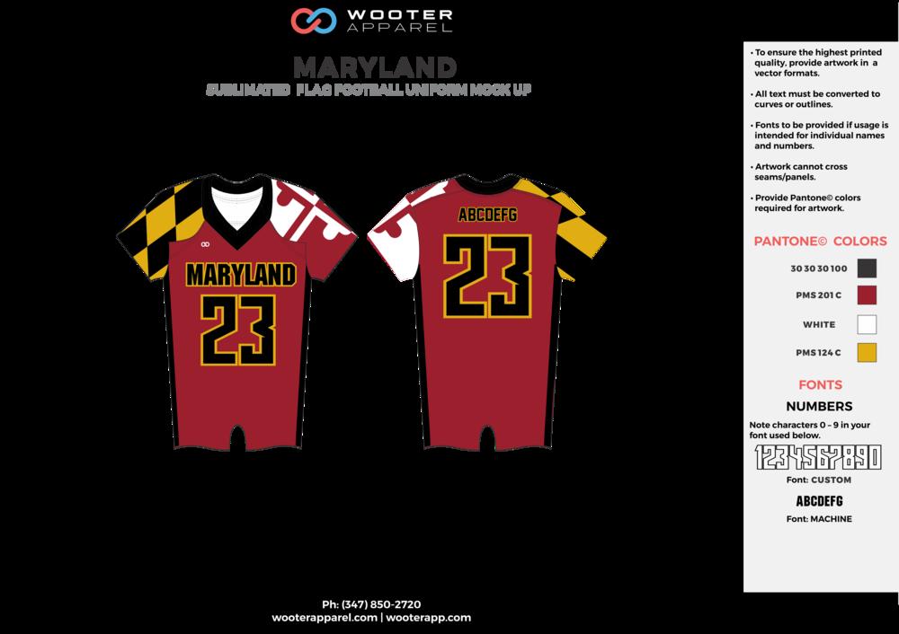 Maryland - Flag Football Jersey - Option 1 - 2017 -v1.png