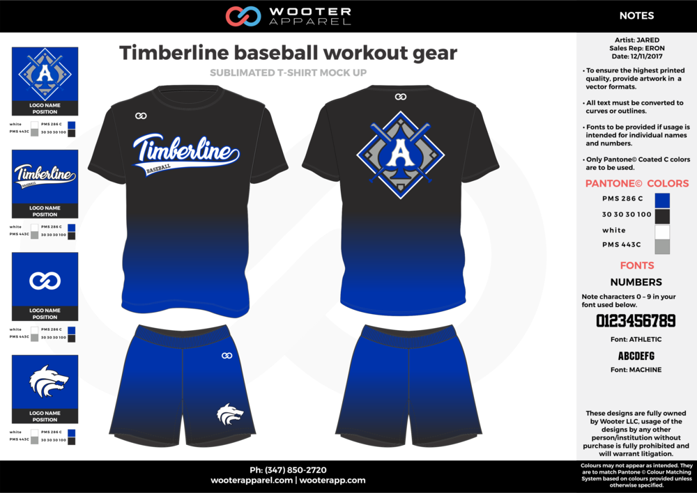 2017-10-12 Timberline baseball workout gear 2.png