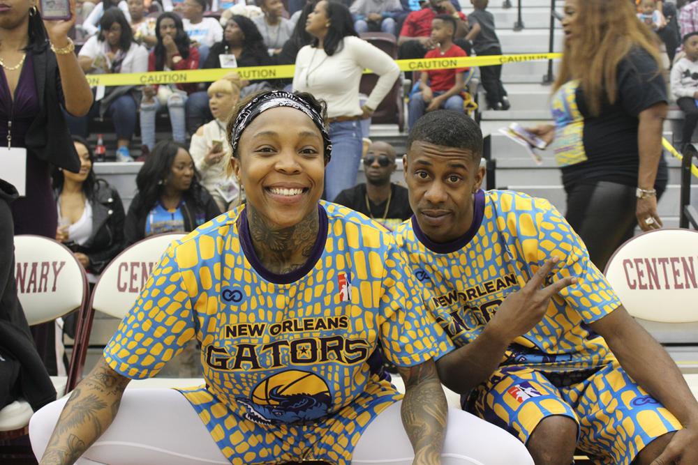 NEW ORLEANS GATORS yellow blue dark blue basketball uniforms jersey shirts, shorts
