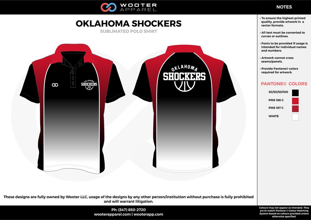 Oklahoma Shockers Basketball - Sublimated Coaches Polo Shirt -  2017 2.png