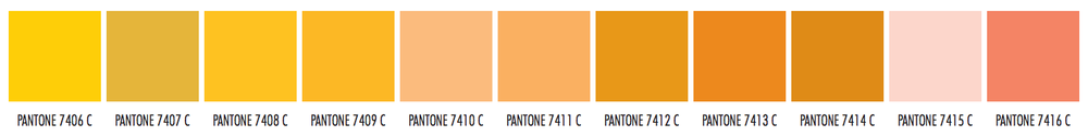 As You can see there are so many different orange colors... which one do you like most?