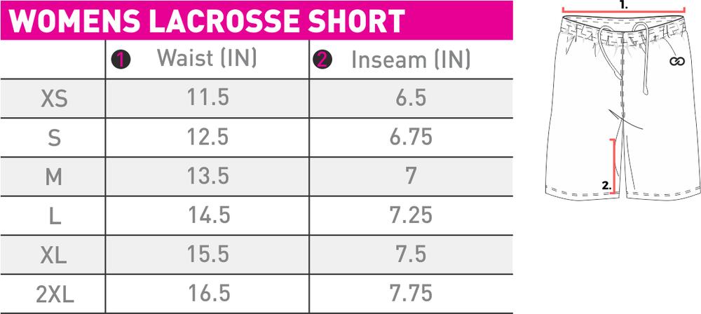 Lacrosse Short Womens - Size Chart - WLB-0039PJ.png