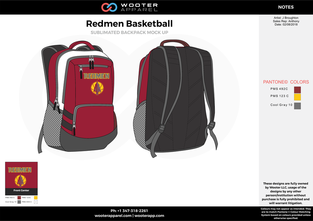 Redmen Basketball Backpack 1.png