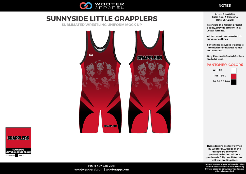 Little Grapplers - Wrestling - Singlet - Option 1 - 2018 - v4.png