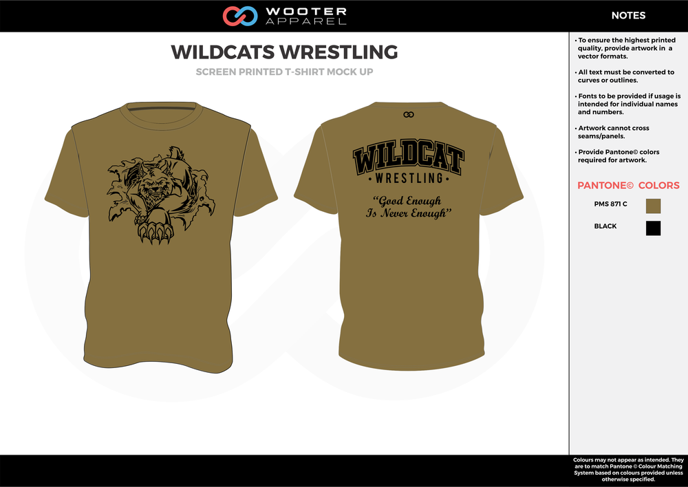 02_Wildcats Wrestling - Screen Printed T-Shirt - 2017.png