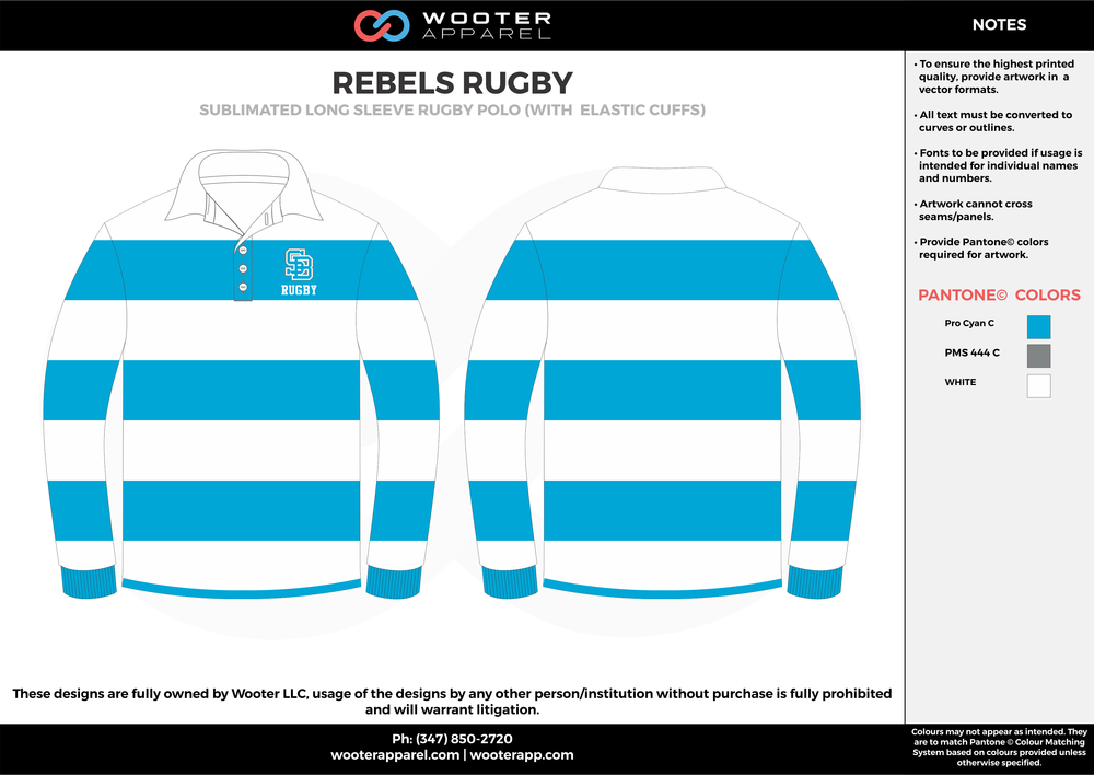 Rebels Rugby - Sublimated Long Sleeve Rugby Polo Shirt - 2017.png