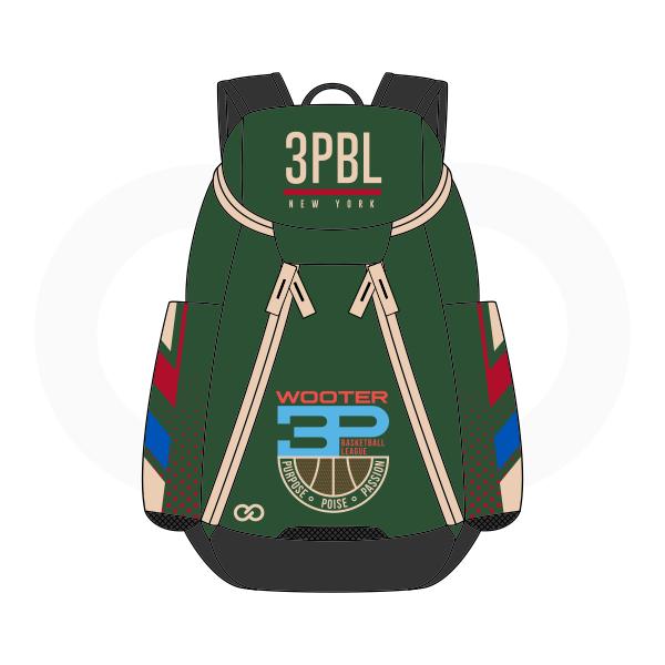 ffef3d26b7f8 3PBL Green White Blue Red and Black Basketball Backpacks Nike Elite