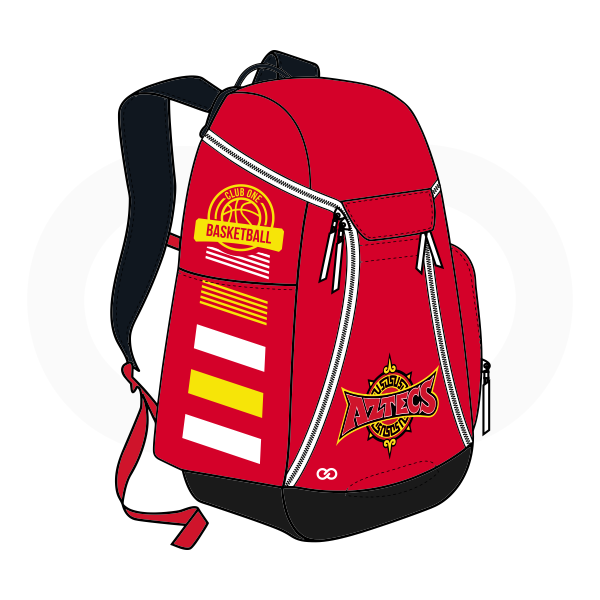 Red Black White and Yellow Basketball Backpacks Nike Elite