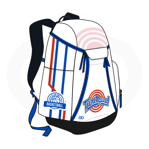 Black White Blue and Red Basketball Backpacks Nike Elite