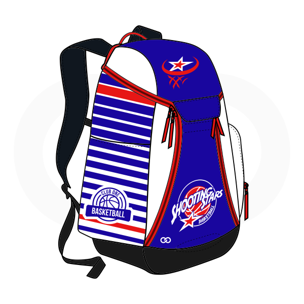 Black Blue White and Red Basketball Backpacks Nike Elite