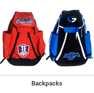 AS LOW AS:  $64.99/BACKPACK   OR:  $54.99/Duffle BAG