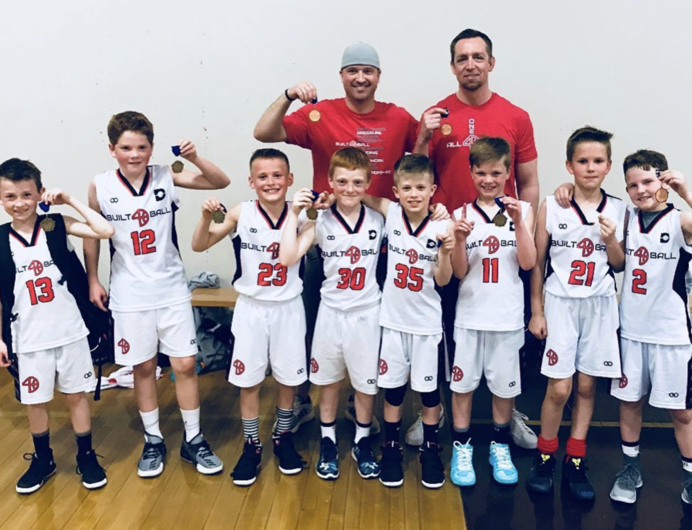 Winning In Washington:  Built 4 Ball Academy helps teach basketball fundamentals and skills development training in Spokane, Washington (pictured: B4B 3rd Grade squad repping Wooter Apparel in their undefeated season!)