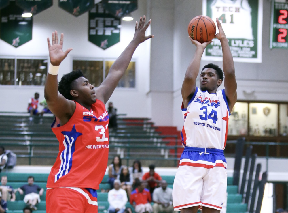 The Best In The Midwest:  In May,45 of the most talented senior High School Boys basketball players from Indiana, Illinois, Michigan, and Wisconsin tossed on their red, white, and blue Wooter jerseys and competed in the Prep Ball Stars Midwest Challenge, paving the way for further showcase tournaments coming up in August and September.
