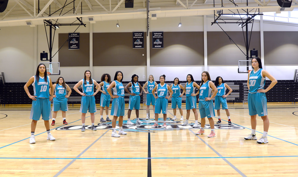 Fall 2017 CGCC Womens Basketball - Team 8.jpg