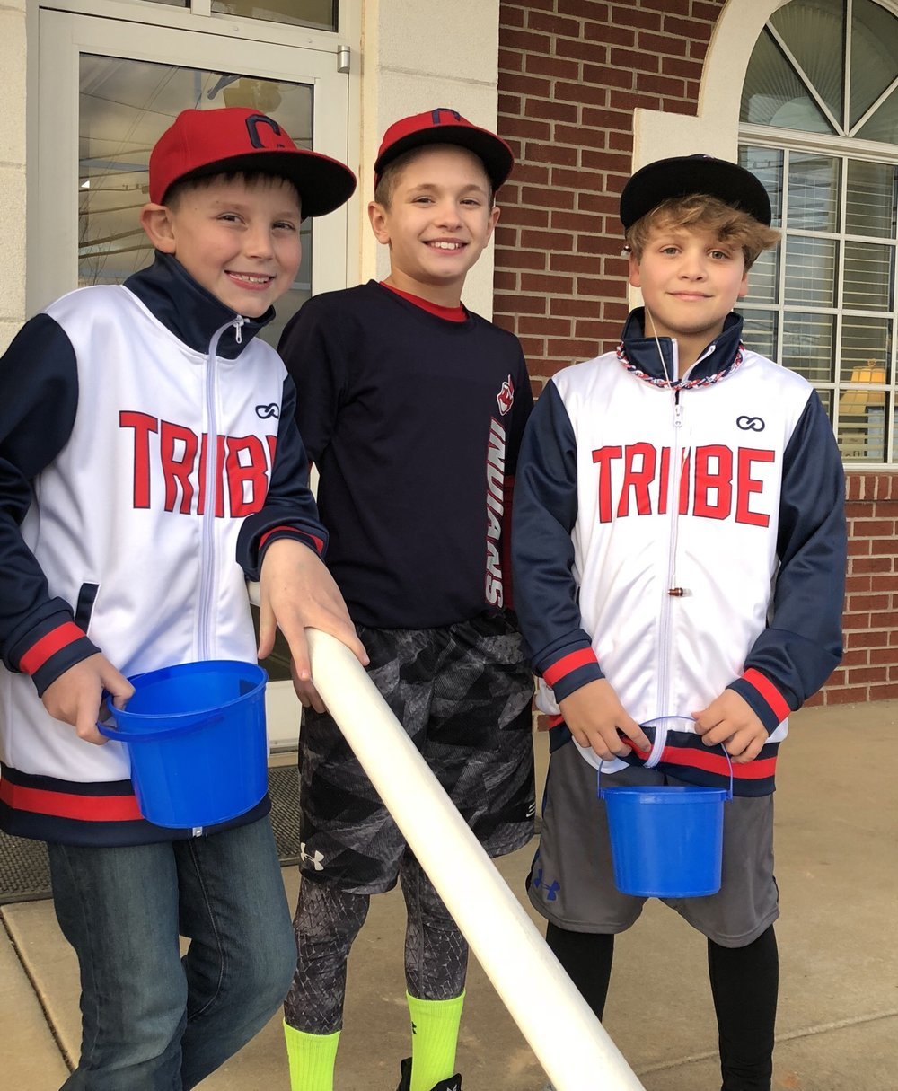 TRIBE White Black Red Baseball Uniforms, Jerseys Jacket, and Shorts