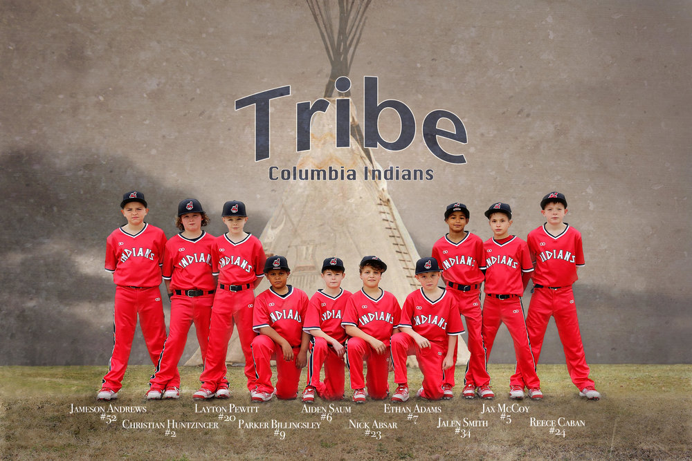 INDIANS Red White Black Baseball Uniforms, Jerseys Shirts, and Pants