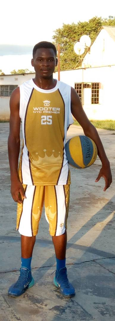 WOOTER NYC PREMIER Gold White Black Basketball Uniforms, Jerseys, and Shorts