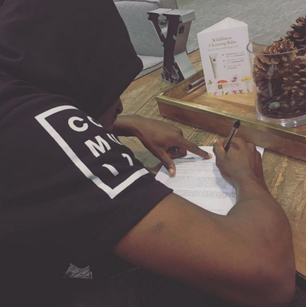 Aquille Carr made his next move his best move as the Baltimore native and professional basketball player officially becomes the first signed athlete to Wooter and will partner with the company to customize and release his signature AC3 merchandise line.