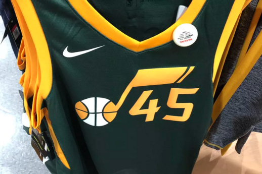 """Move over John Stockton and Karl Malone. When Donovan Mitchell and the Utah Jazz take the floor against the Portland Trail Blazers on Christmas Day, they'll be rocking these fresh new """"Earned"""" (and leaked) alternate jerseys."""