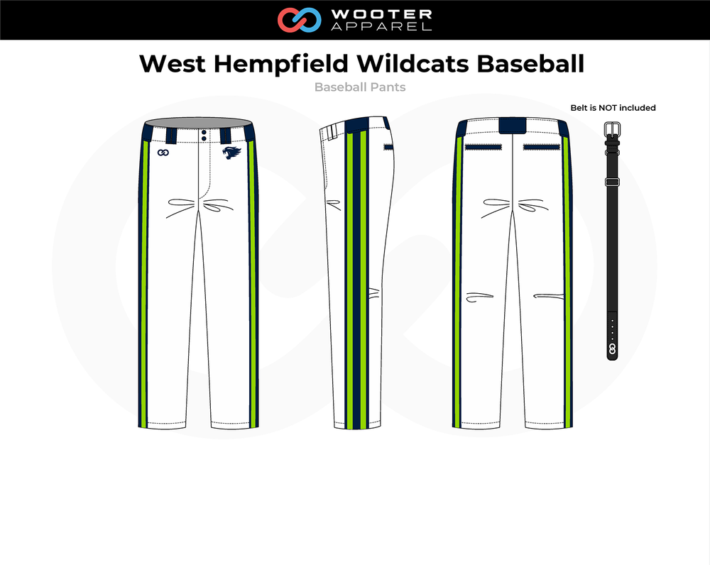 2018-11-06 West Hempfield Wildcats Baseball Pants (White).png