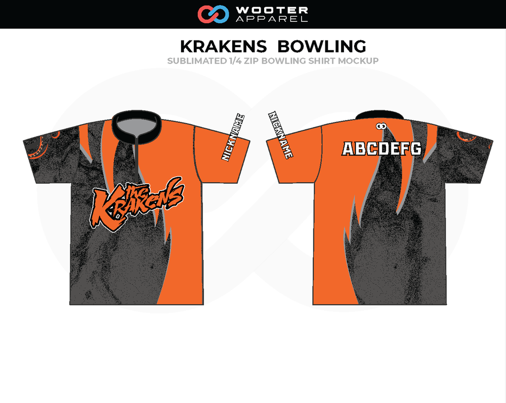 Custom Sublimated Bowling Shirts Wooter Apparel Team Uniforms