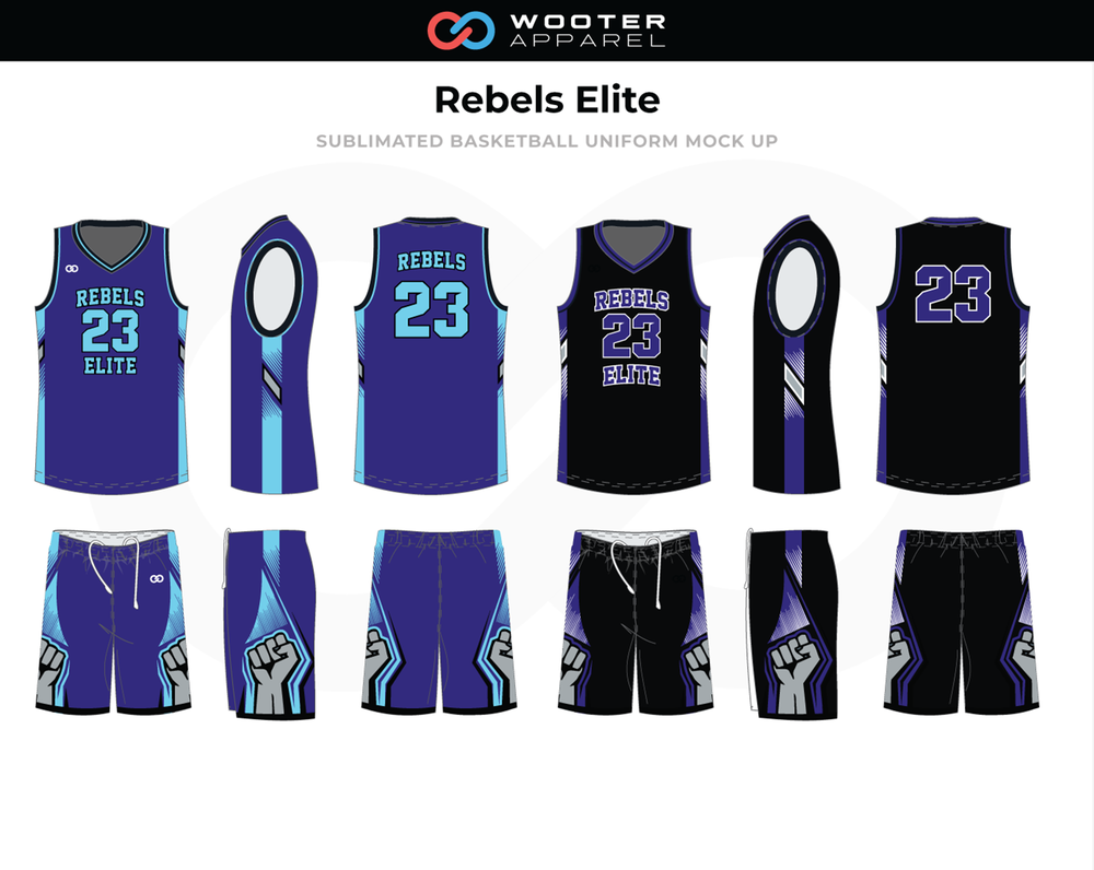 Custom Sublimated Basketball Uniforms   Jerseys — Wooter Apparel ... f18815967