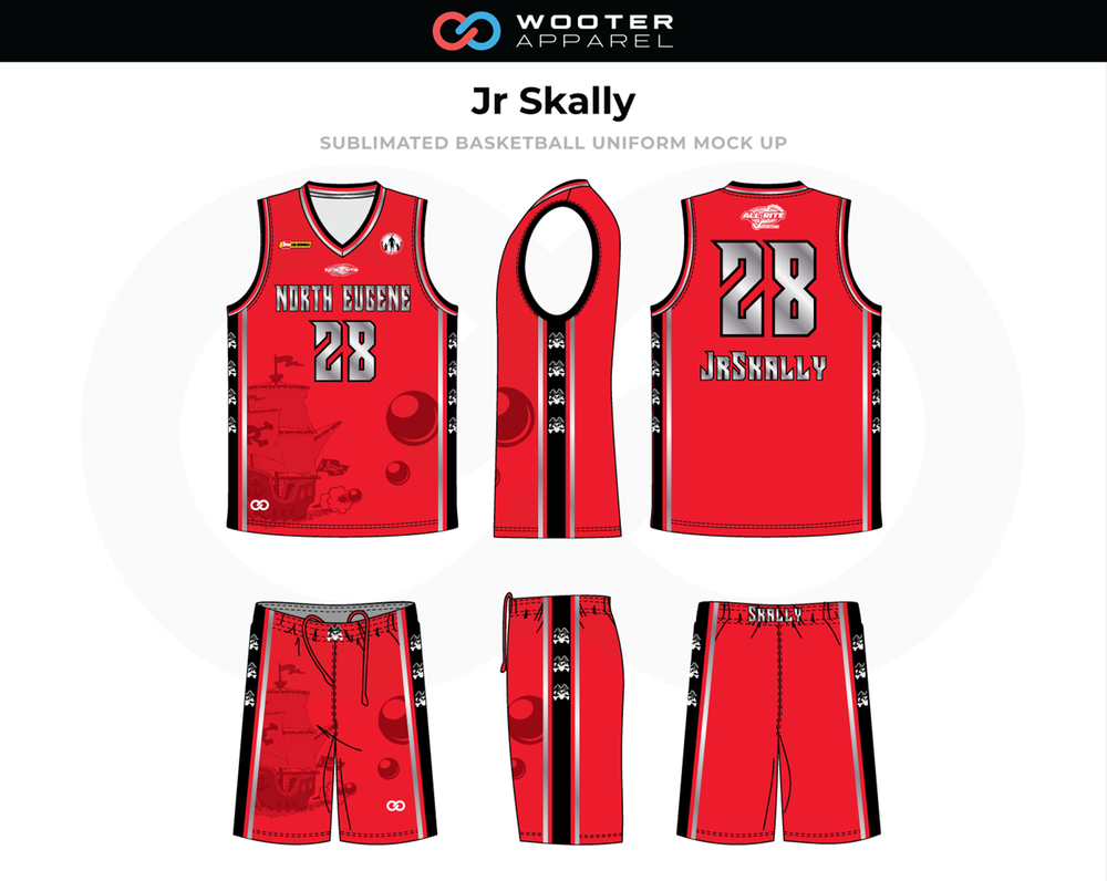 26cee820a94 Custom Sublimated Basketball Uniforms   Jerseys — Wooter Apparel ...