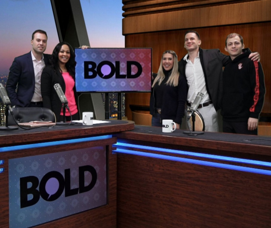Wooter CEO Alex Aleksandrovski and COO, David Kleyman were recently featured on BOLD TV with Bold Business hosts David Grasso and Lyndsay Christian, as the Co-Founders of Wooter talked about the growth of Wooter Apparel, the Wooter App, and leaving their mark in the sports industry.