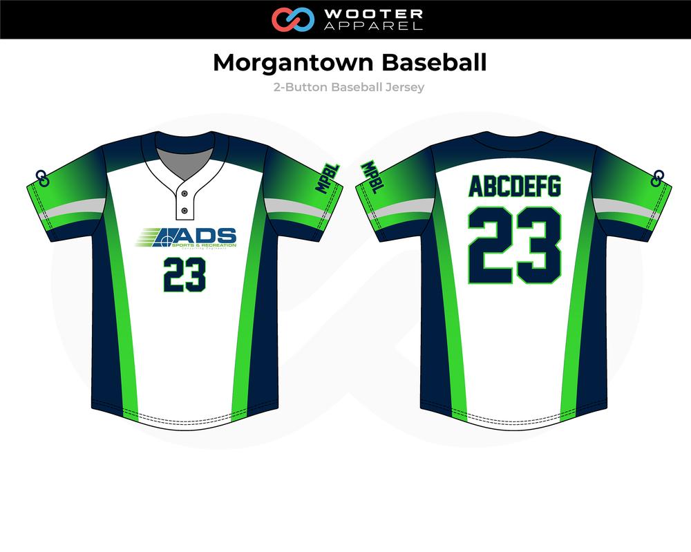 2019-01-17 Morgantown Baseball Button-Down Jersey (Aternate).png