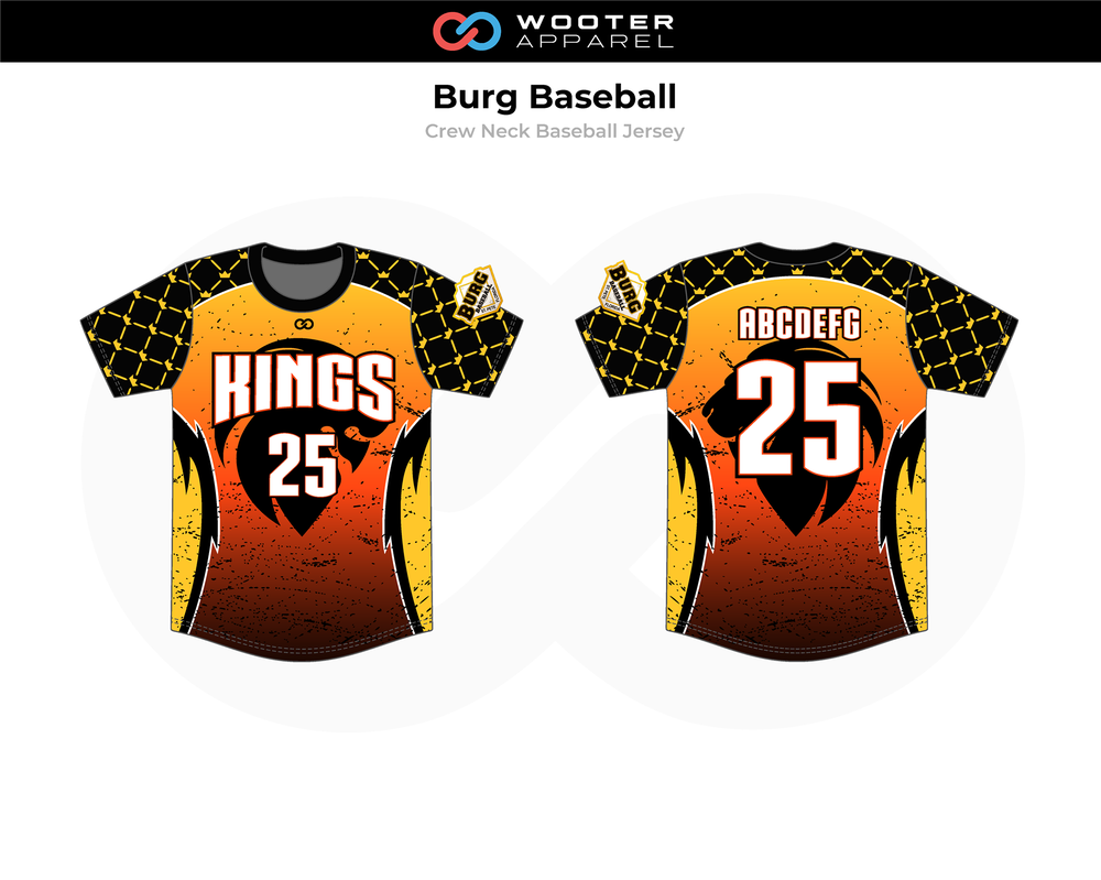 2019-02-18 Burg Baseball Crew-Neck Pullover Jersey (Kings).png