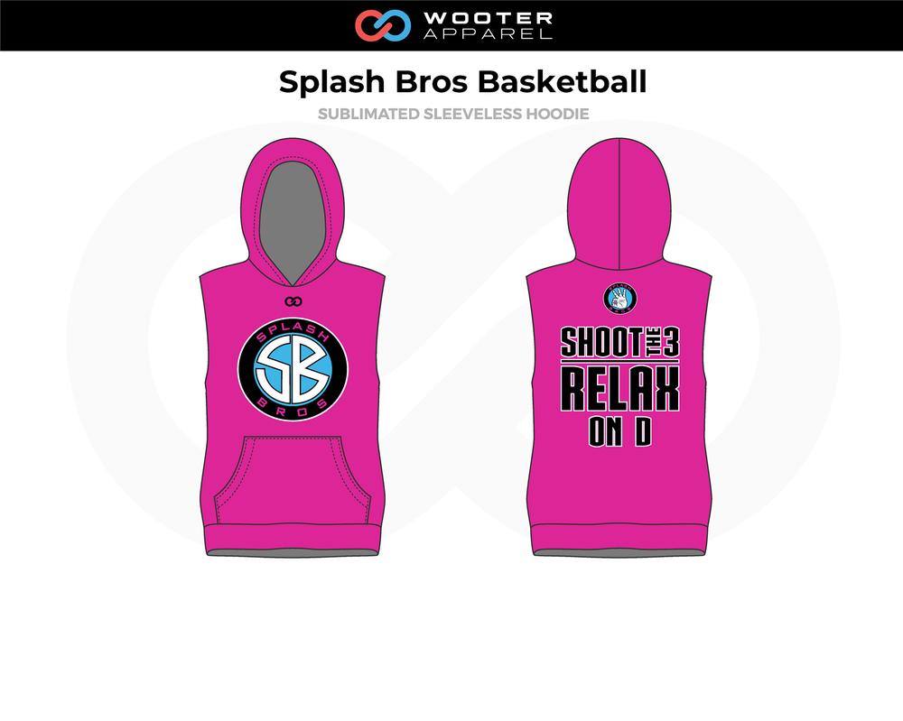 2018-08-30 Splash Bros Basketball Sleeveless Hoodie (Pink).png
