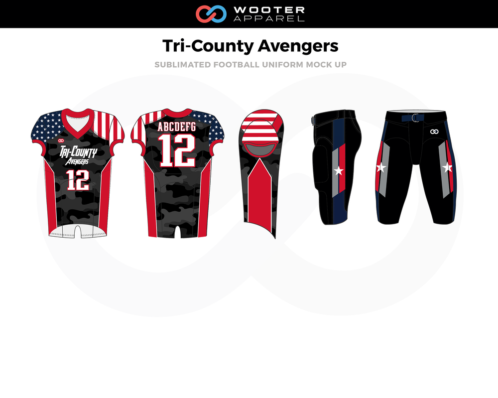 tri-county avengers Sublimated Football Uniform (final)-01.png