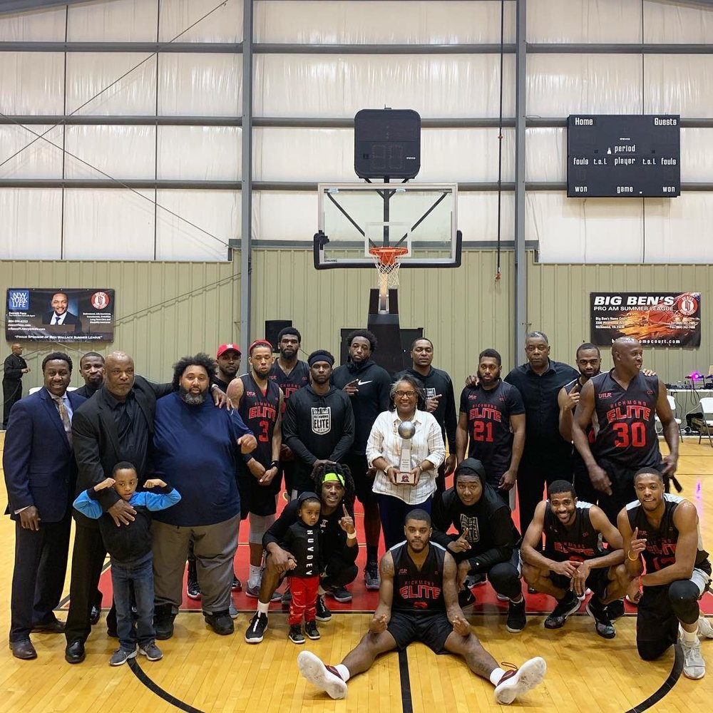 Trophies: The road to St. Louis and the Elite 8 was paved with hard work for the Richmond Elite, who captured the ABA Regional Championship with an impressive 117-79 win over the Baltimore Hawks.