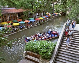 River Walk in San Antonio, TX
