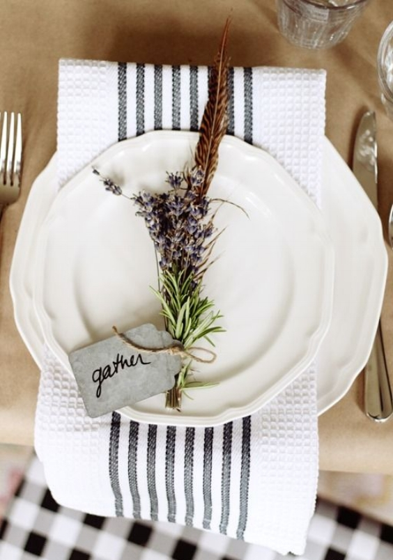 neutral gather table setting