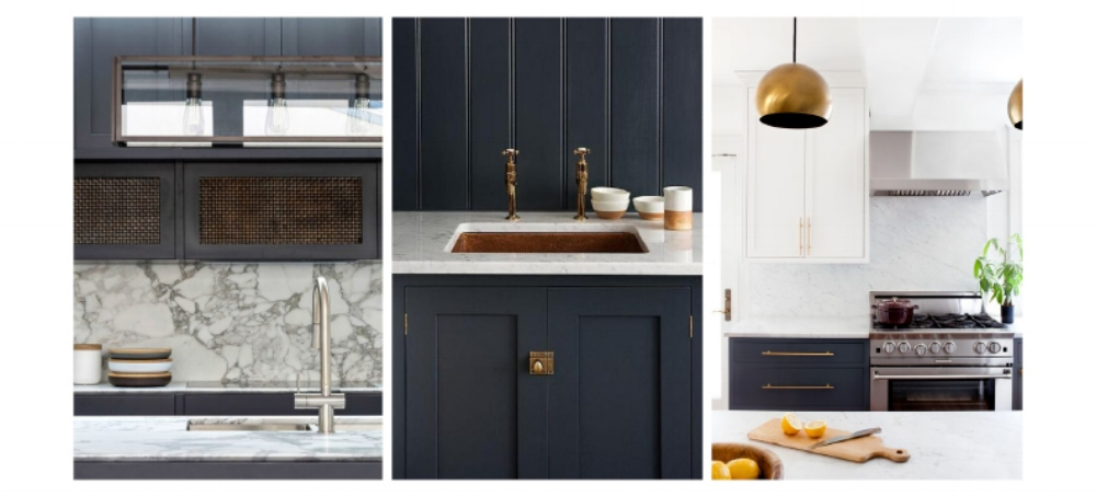 contrast kitchen cabinets